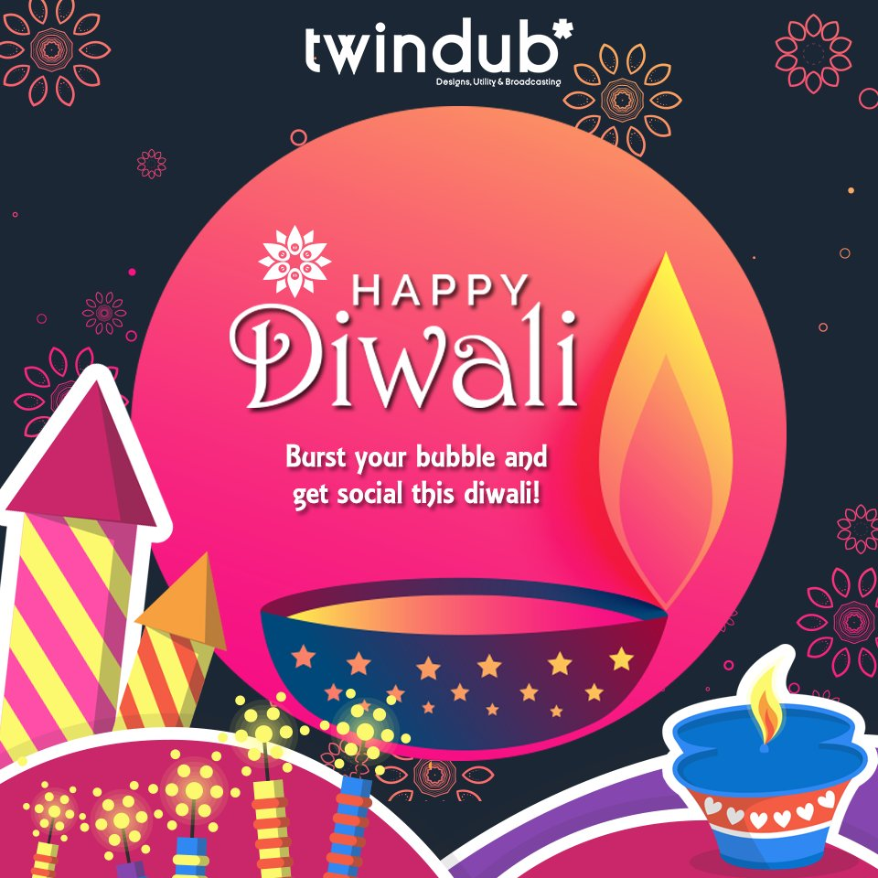 #Twindub wishes you a #bright and a #beautiful #Diwali #Staysafe #Diwali2017 #Ecofriendly #Saynotocrackers<br>http://pic.twitter.com/GdaygLNKcp