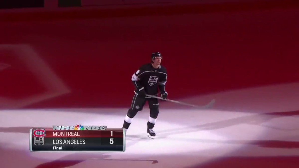 It was a big night for Adrian Kempe. Hea...