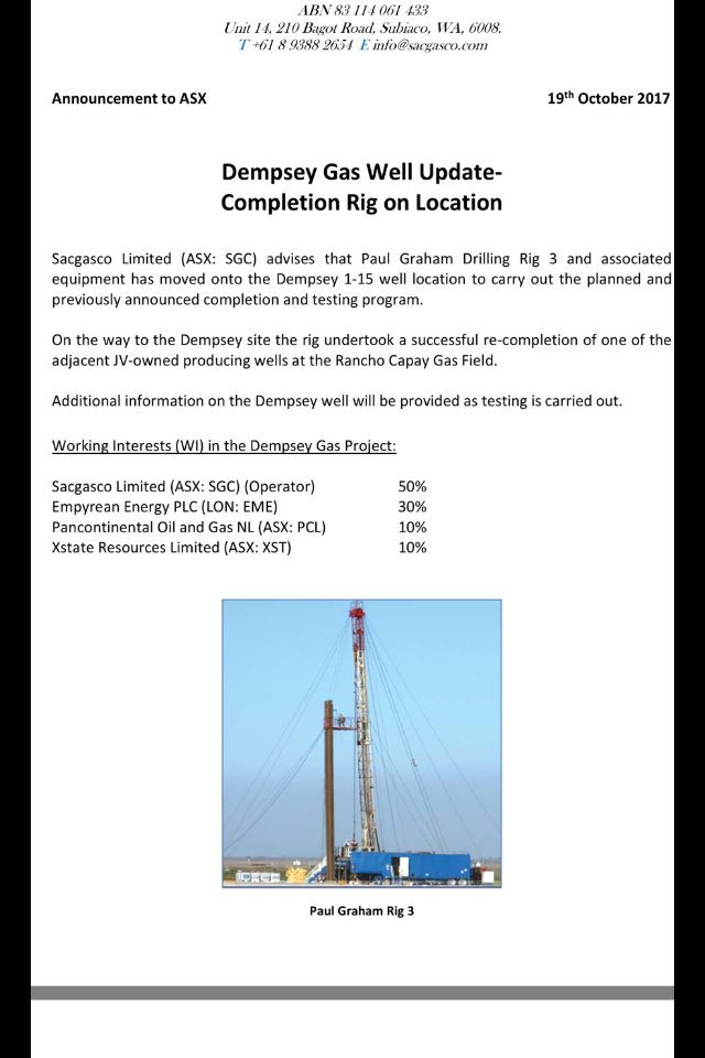 #EME #SGC update overnight on #ASX is a positive clear nod towards #sales and #income in the immediate future from commercial #gas <br>http://pic.twitter.com/JRFB49oRKC
