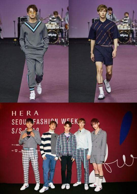 It&#39;s at the Fashion Week in Seoul that NFLYING parade and sing.  #nflying #seoul #korea #group #fncentertainment #kstationtv #fashionweek <br>http://pic.twitter.com/YZZlkzoGgm