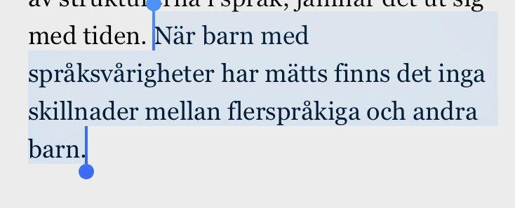 Avskaffa hemsprak lar barnen svenska