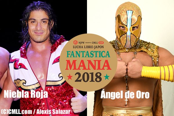 """NJPW/CMLL: Se dan a conocer los nombres de los luchadores mexicanos que irán a """"Fantasticamania 2018"""" 7"""