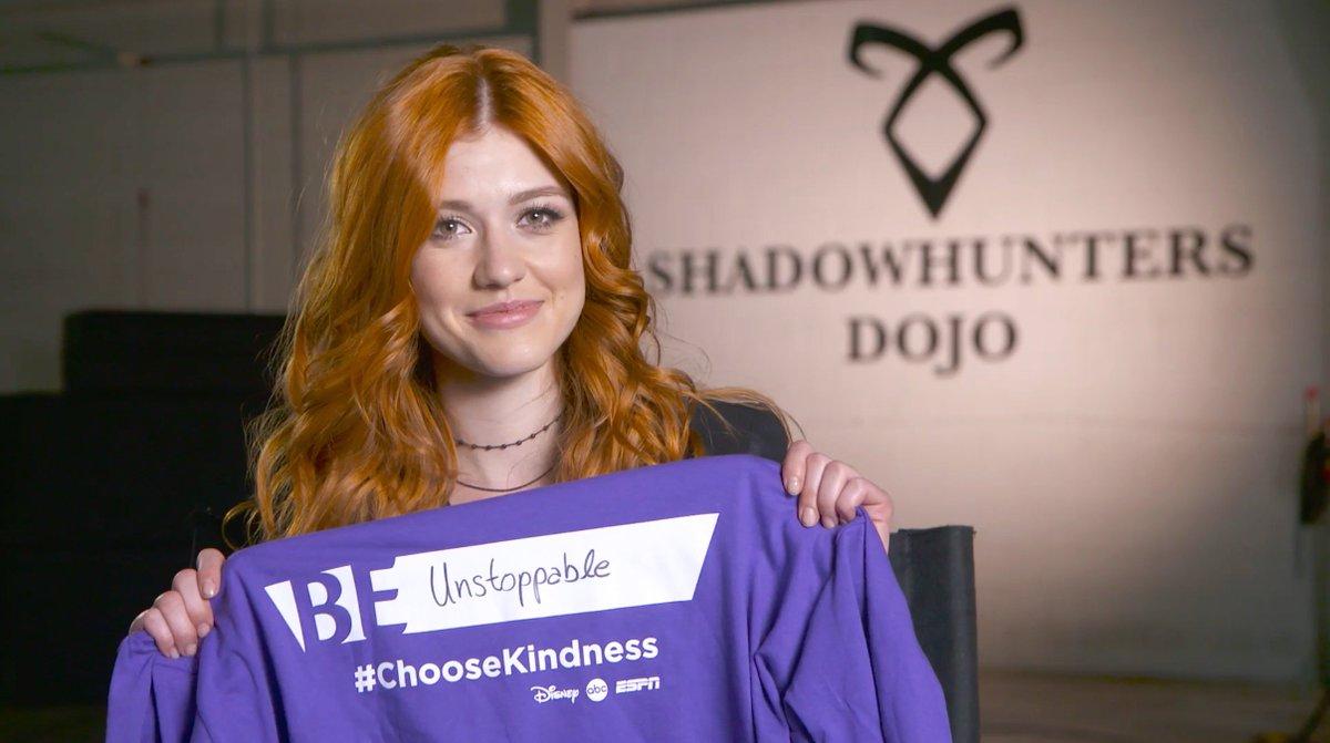Wear purple today with @Kat_McNamara, & #ChooseKindness. #SpiritDa...