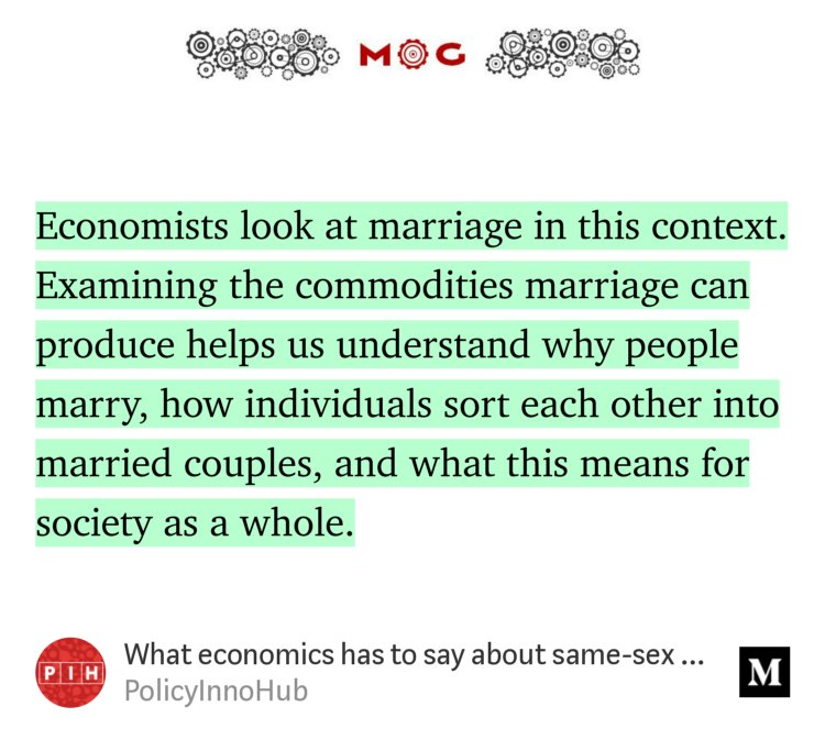"""""""What economics has to say about same-se..."""