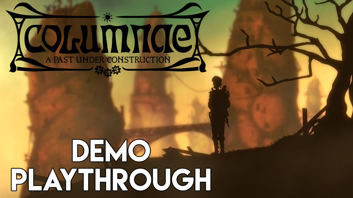 Here&#39;s my #walkthrough of the COLUMNAE #demo. #pointandclick #steampunk #adventure #indiegame #smallyoutuber #game   https:// youtu.be/40uQ0Mo3qMA  &nbsp;  <br>http://pic.twitter.com/nTzj8ai6fs