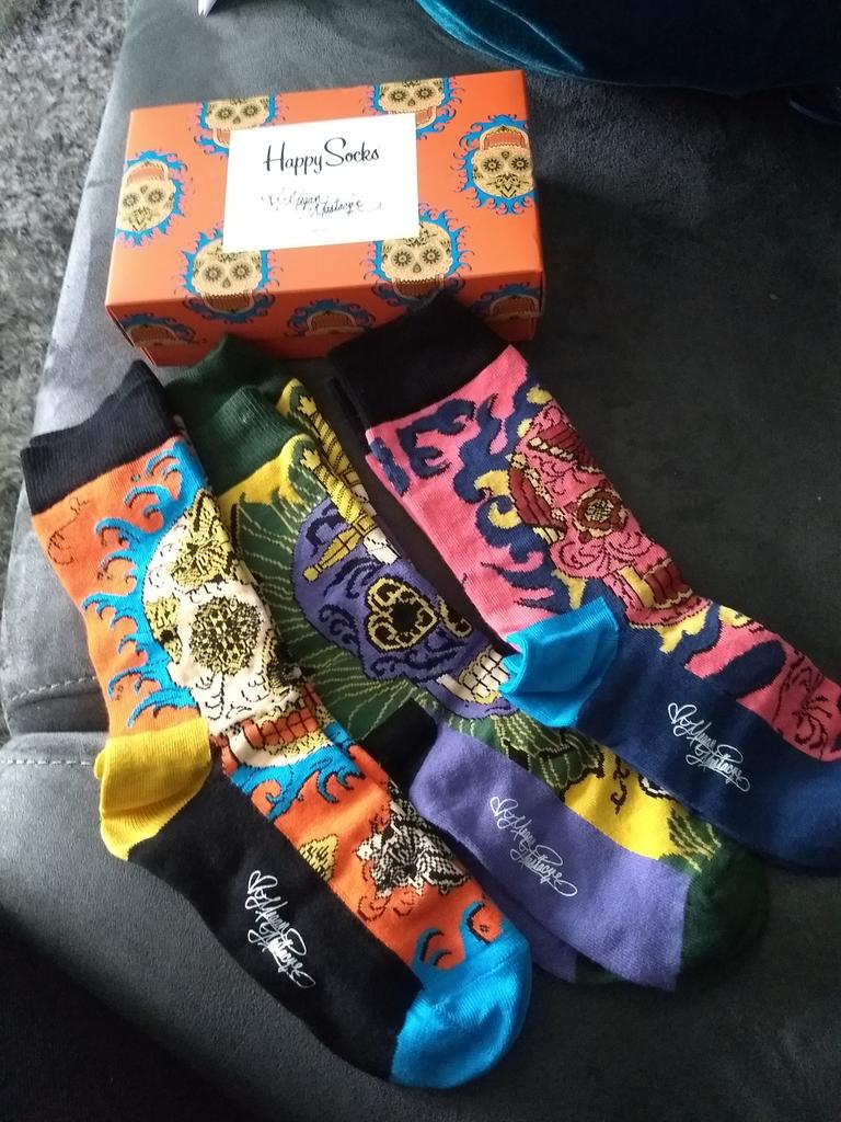 YES YES YES. Just received my Happy Socks by Megan Massacre. I'm in love @Megan_Massacre @HappySofficial