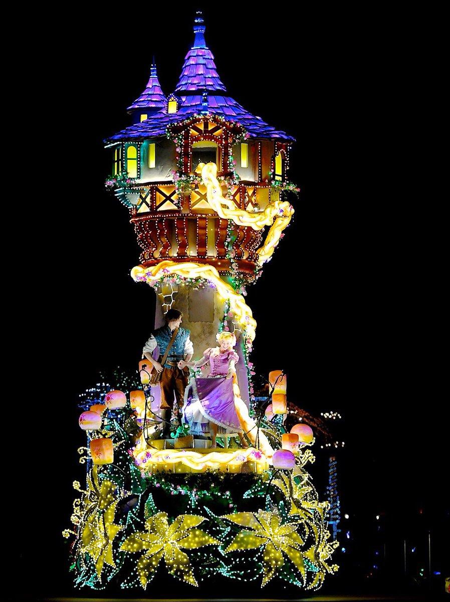 エレクトリカルパレード 塔の上のラプンツェル☆