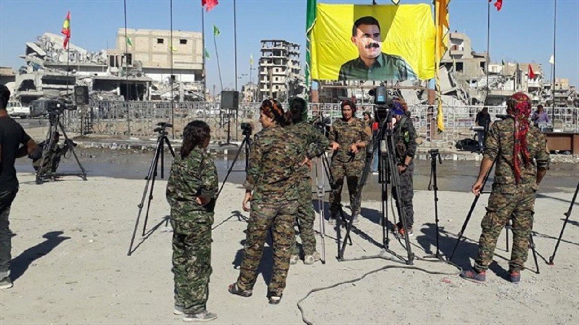 #US #delivers #Raqqa to #PKK terrorist o...