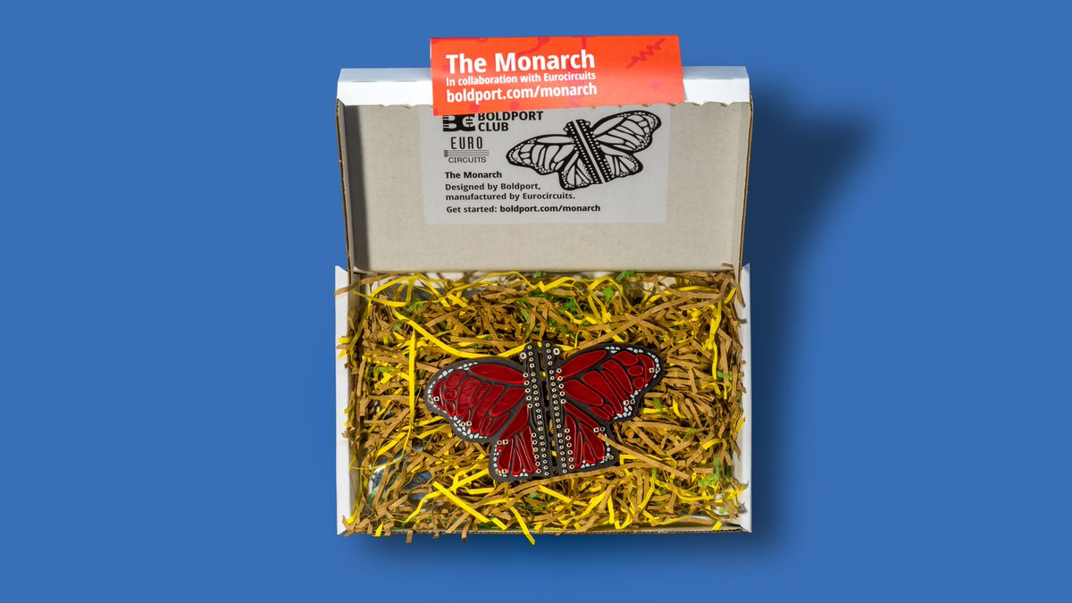 Hey #BoldportClub members, there's now stock of the lovely Monarch at  the shop!