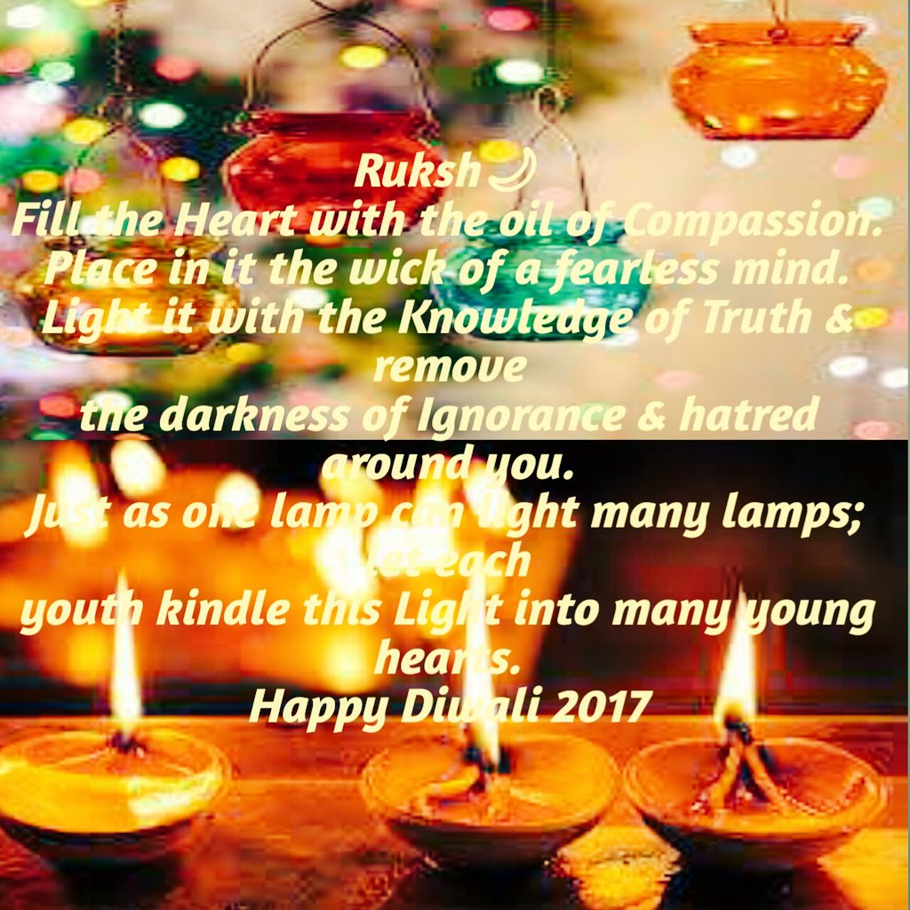 May this #Diwali   be as #bright as ever &amp; brighten our #lives. May it bring #joy, #health &amp; #wealth to you &amp; your #family. @KumariRukshmani<br>http://pic.twitter.com/FeBnrWW6DE