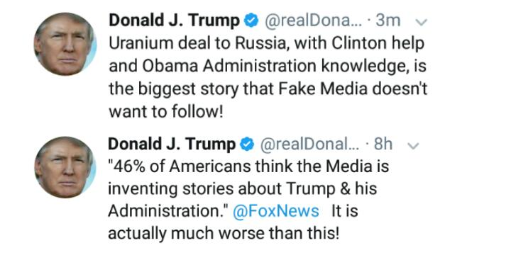 #ThursdayThoughts #FridayEve   Presidents don&#39;t tell media what to write, who to follow.  45 &quot;Fake news&quot; = truth abt Don The Con &amp; WH <br>http://pic.twitter.com/jHoZXESwog