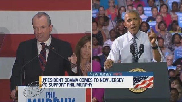 HAPPENING TODAY: Obama returns to campaign trail for Democratic NJ governor candidate Phil Murphy https://t.co/f3f0LAvIxT