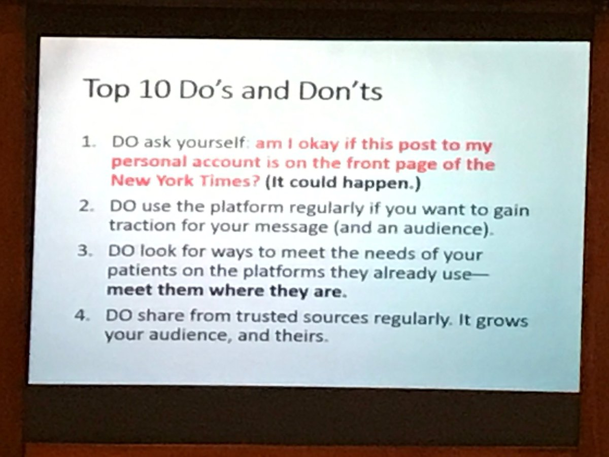 READ THESE TIPS and take-home points from @Dorry_Segev on #SoMe for healthcare professionals. #hcsm @HopkinsACCM<br>http://pic.twitter.com/gvzokDqn9J