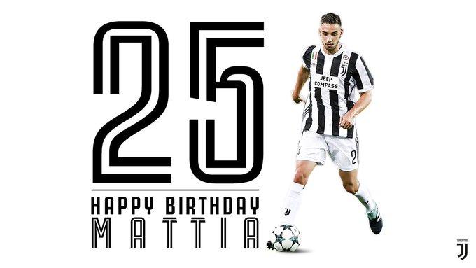 We\d like to wish a very happy 25th birthday to  defender Mattia De Sciglio!