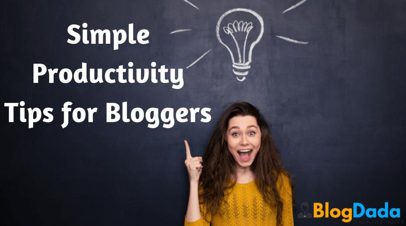 11 Simple Productivity Tips for #Bloggers - http://www. blogdada.com/productivity-t ips-for-bloggers/ &nbsp; …   #Blogging #BloggersTips #SEO #Blogs <br>http://pic.twitter.com/EcdPuZNTuu