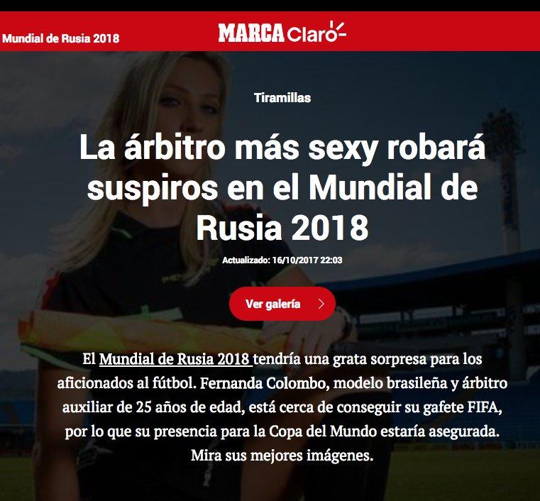 Mujeres árbitro VS vomitiva prensa españ...