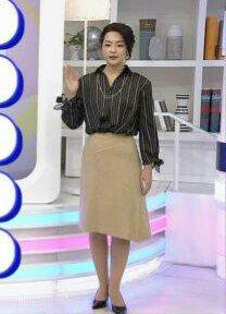 鈴木奈穂子さんのカクテルドレス姿