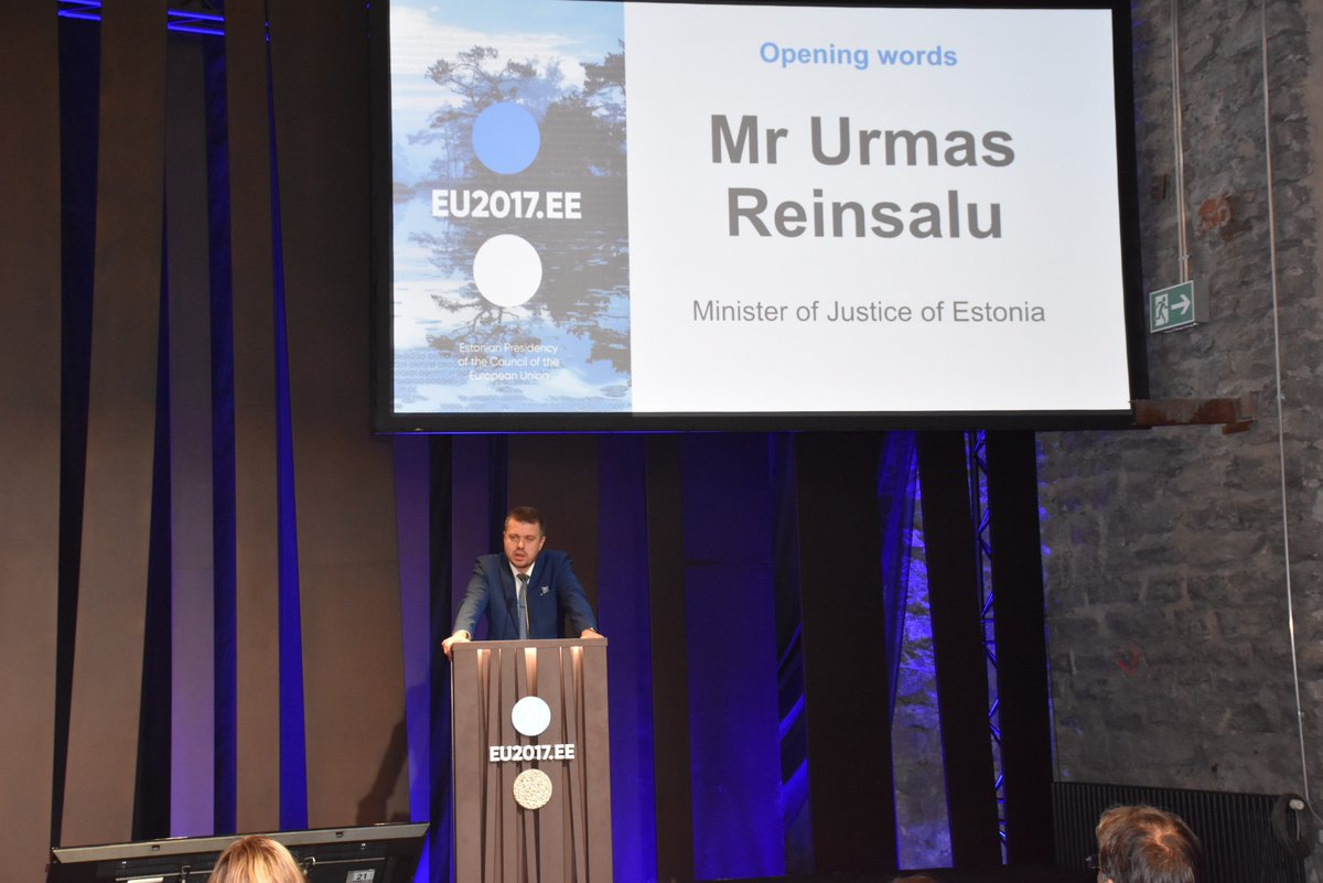Right now in Tallinn: Conference Futur-e-Justice. Watch livestream:  https:// livestream.com/eu2017ee/event s/7828868 &nbsp; …  #ejustice  #g48ejustice #EU2017EE <br>http://pic.twitter.com/MmDxM30IVo