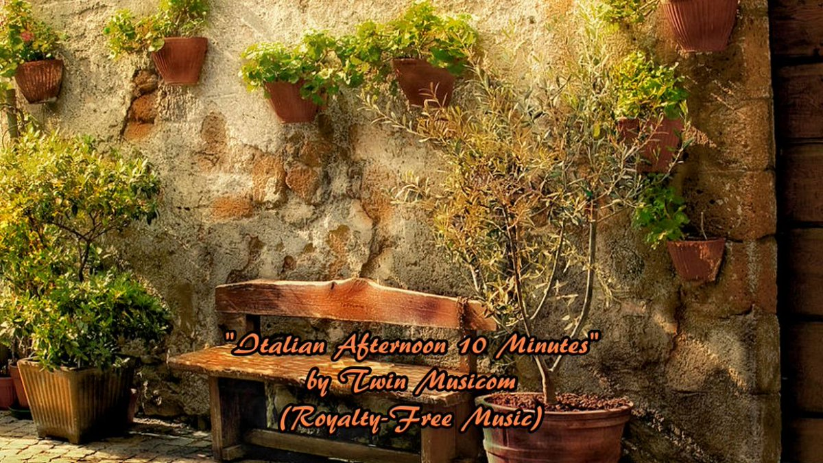 "Watch&gt;  https:// youtu.be/Wh-k7O_A2zA  &nbsp;    http:// bit.ly/1IJtnij  &nbsp;   ""Italian Afternoon"" TwinMusicom #royaltyfree #music #bright #happy #cheerful #upbeat<br>http://pic.twitter.com/p7fARypqnV"