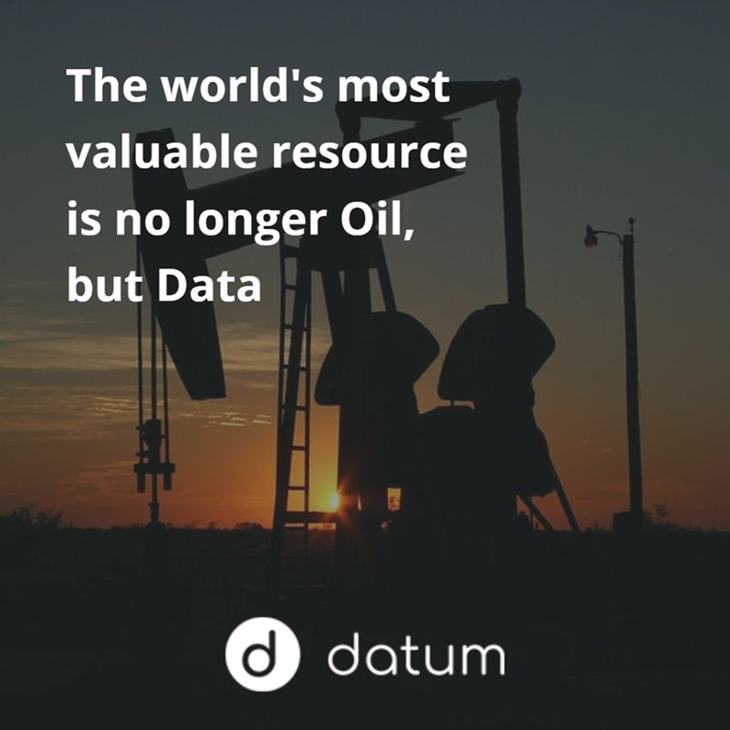 #Data is the new #oil, powering a new #economy valued over €350B. #DatumFacts #TakeBackYourData #Whitelist open NOW:  https:// buff.ly/2g7seaA  &nbsp;  <br>http://pic.twitter.com/e67jY8gzNv
