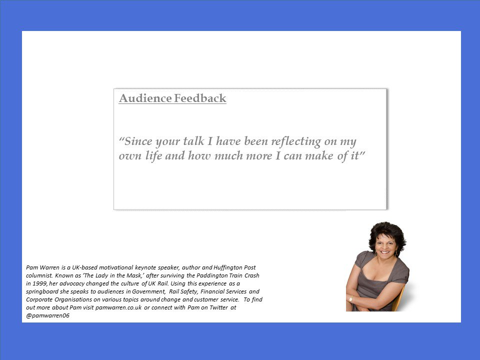Client feedback! #professionalspeaker <br>http://pic.twitter.com/Xjx71W6aw6