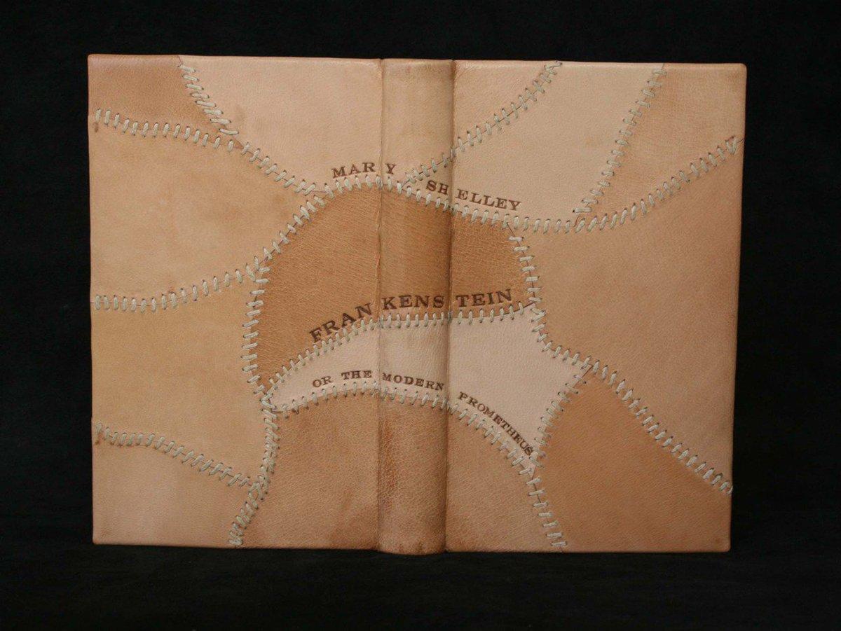 Mary Shelley's 'Frankenstein', bookbinding by Dimitri: koutsipetsidis.wordpress.com