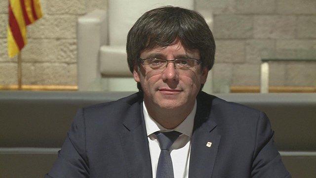 #Catalogne : l'indépendance n'a pas été déclarée mais le sera si l'Etat suspend l'autonomie d'après Puigdemont ➡️ https://t.co/ANlwryFiS8