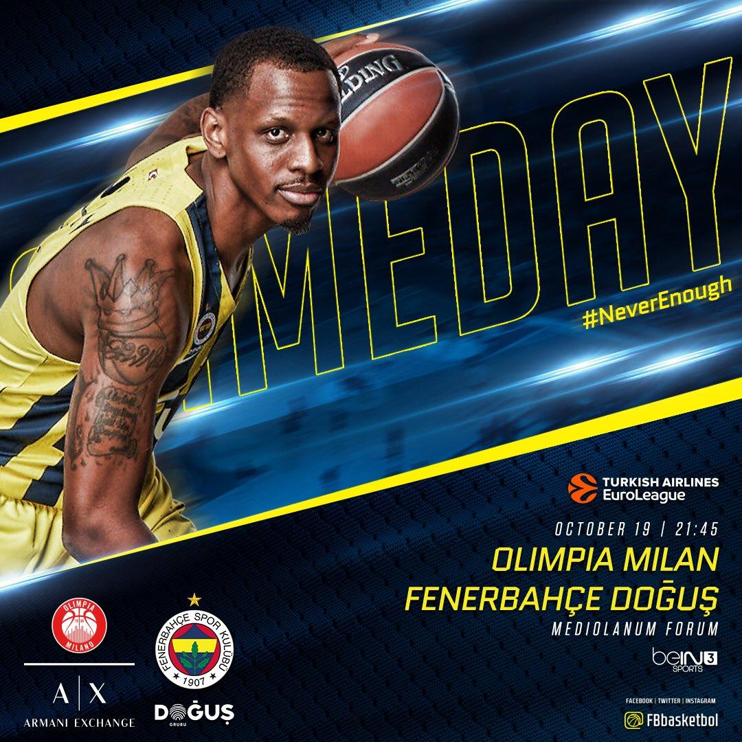 🔥 Game Day! 🏆 @EuroLeague Round 2 🏀 @Oli...
