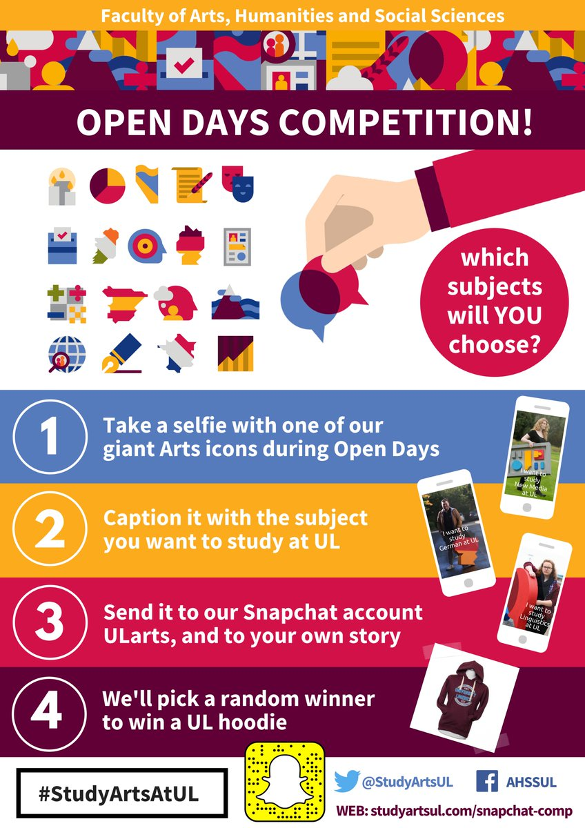 What a great competition!! Get involved and win a UL Hoodie!!! #StudyAtUL <br>http://pic.twitter.com/1DG7ikbEdg