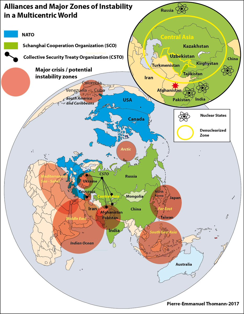 Global alliances and zones of instability #Geopolitics   #Cartographie <br>http://pic.twitter.com/bLgiAwX5A5