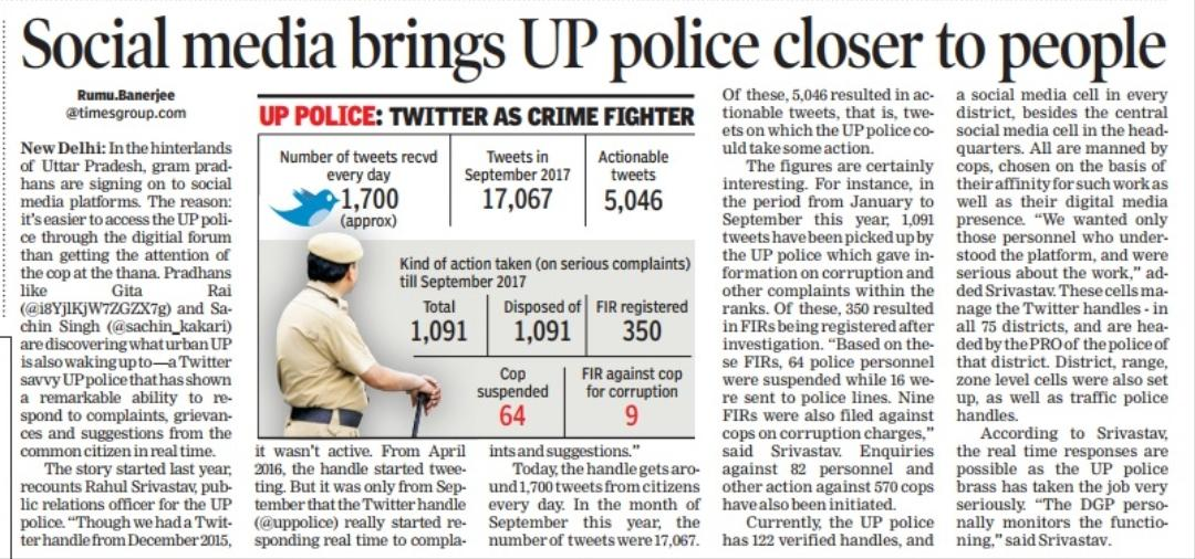 Being online is just a means to serve you better offline.. Team #SocialMedia #uppolice<br>http://pic.twitter.com/2hisasi94q