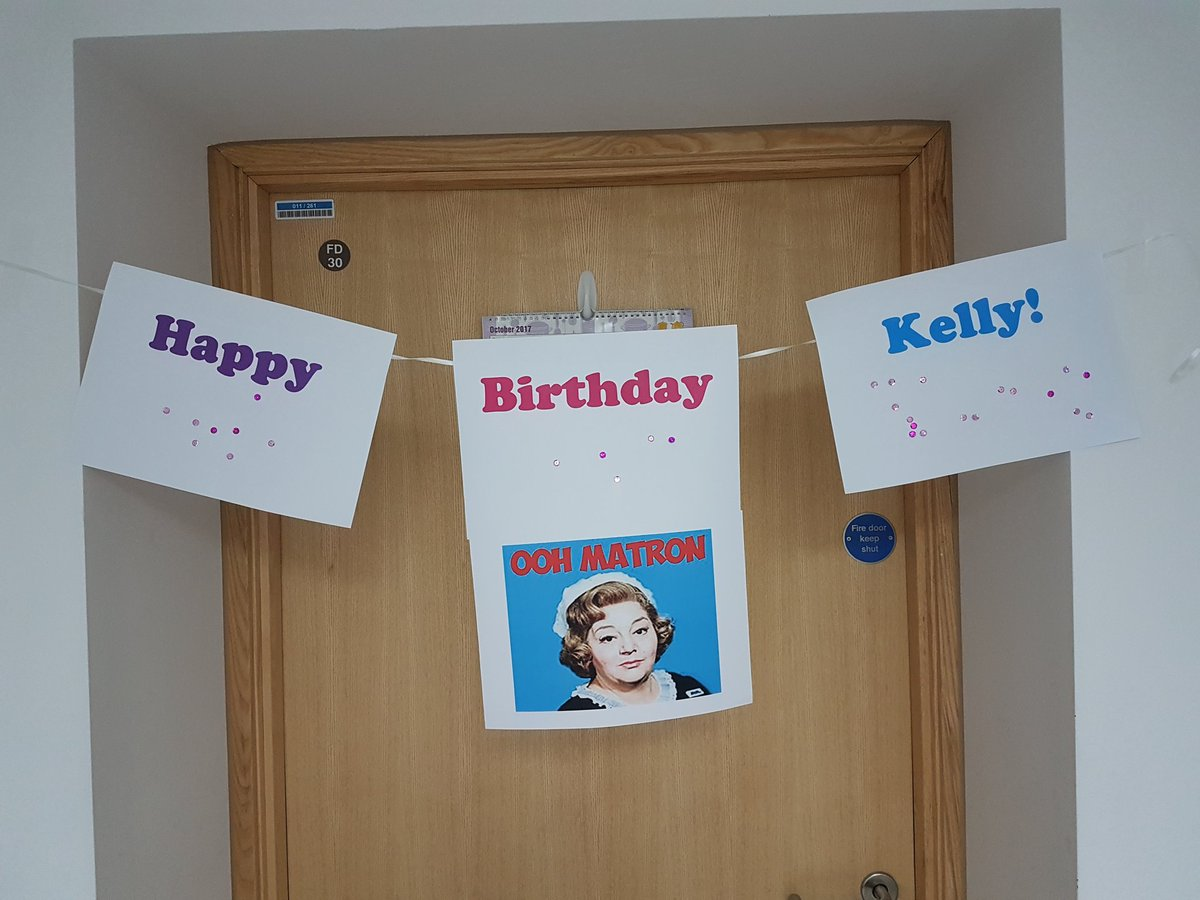 A very #HappyBirthday to our #Fantastic #Motivated #Supportive &amp; generally #Awsome #Matron @mrskellyyoung from all of the #NICU team @BTHFT<br>http://pic.twitter.com/32TMGbzz7U