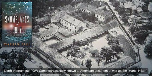 Endure starvation &amp; torture in infamous &quot;Hanoi Hilton!&quot; SNOWFLAKES IN JULY:  https:// buff.ly/2yzTito  &nbsp;   #thriller #ASMSG<br>http://pic.twitter.com/XuS7AOUKtG