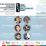 SAVE THE DATE! 📆✅ November 21st Bilbao Youth Employment Forum 2017 #BYEF 👉🏻https://t.co/OQaMe9fBXB