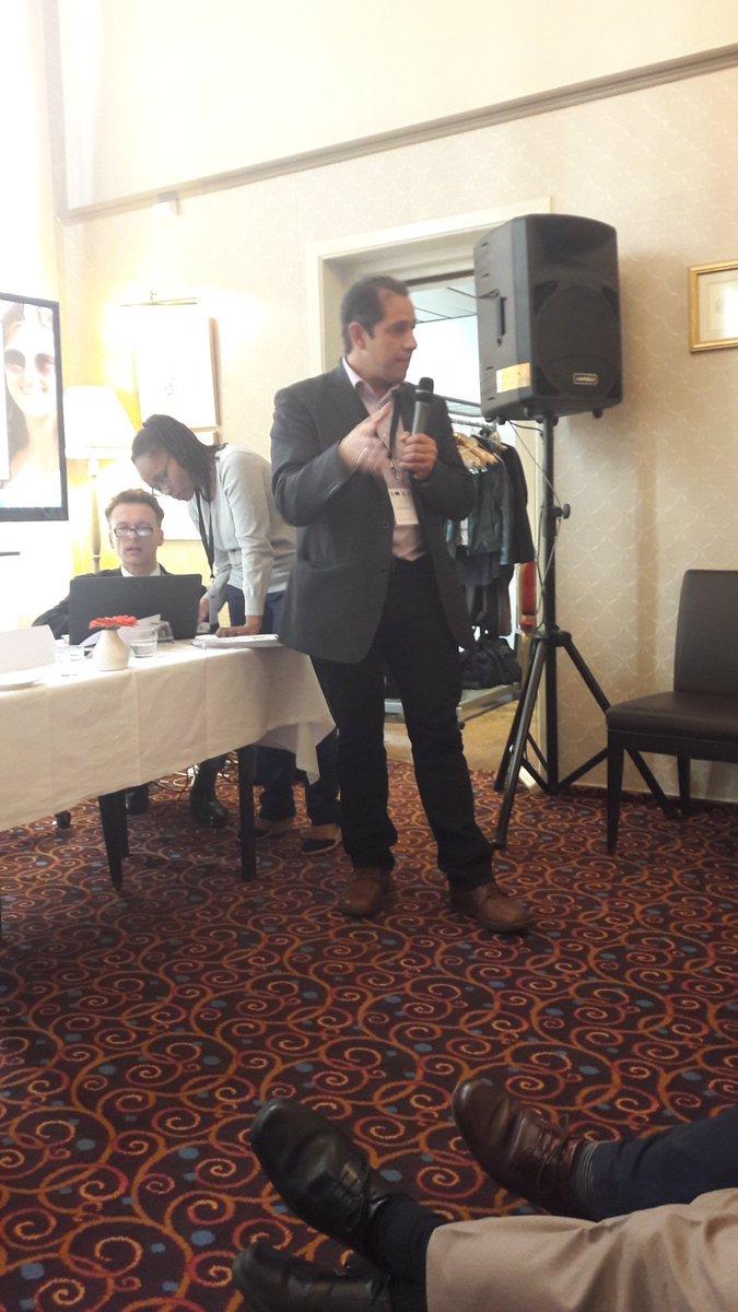 H. Knipschild #BLE presenting WP6 @LEAP_Agri #HLPDStakeholderEvent @RINEA_STI<br>http://pic.twitter.com/ZIEysMQjBJ