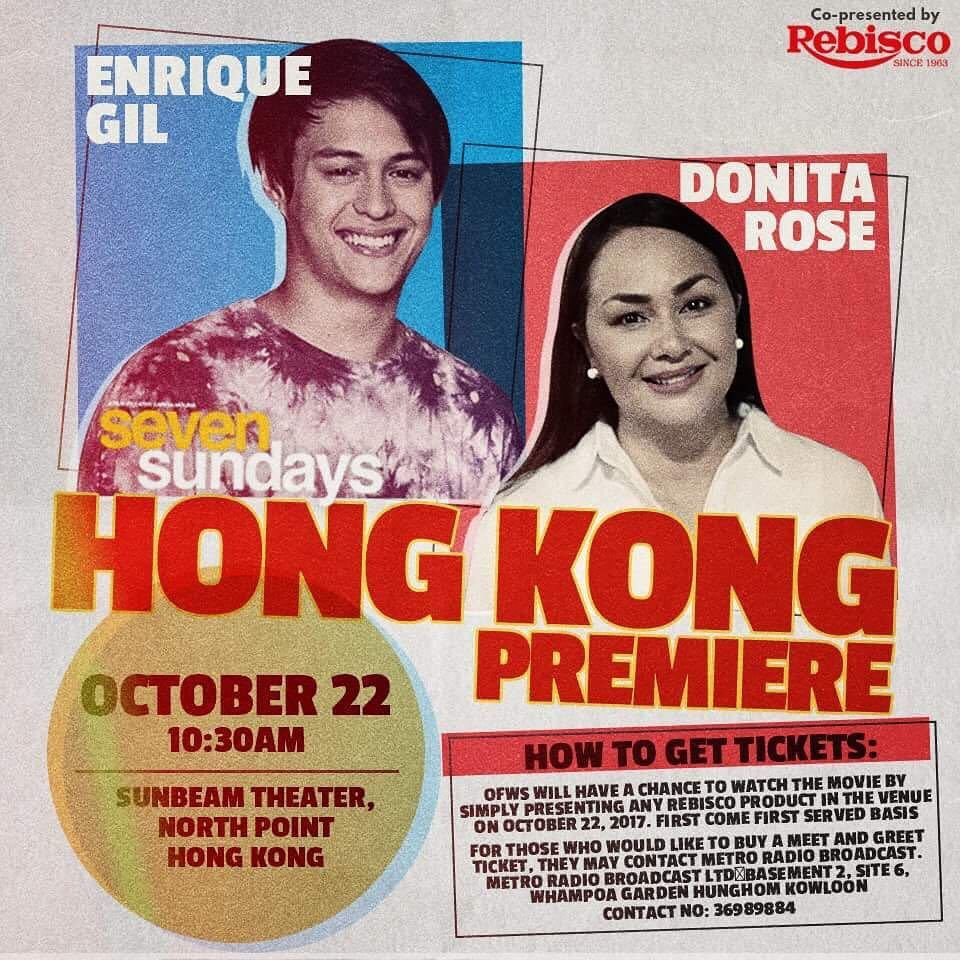 Mary On Twitter Donita Rose And Enrique Gil In Hong Kong For