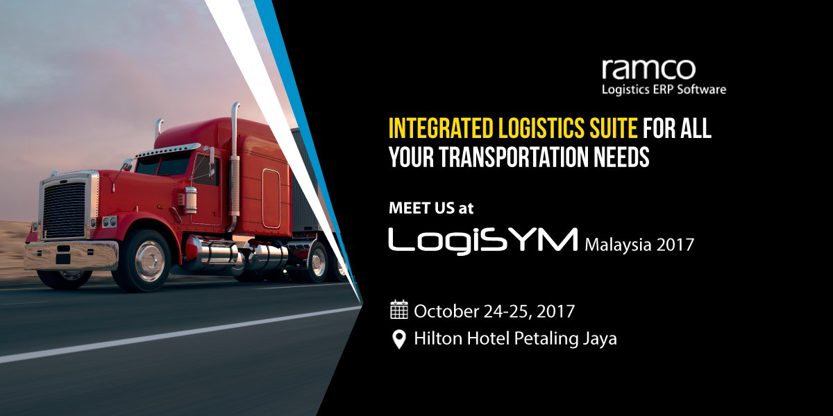 We are participating in #Logisym #Malaysia 2017! Meet team #Ramco to explore integrated #logistics suite for all your transportation needs. <br>http://pic.twitter.com/ej2o7UjRmH