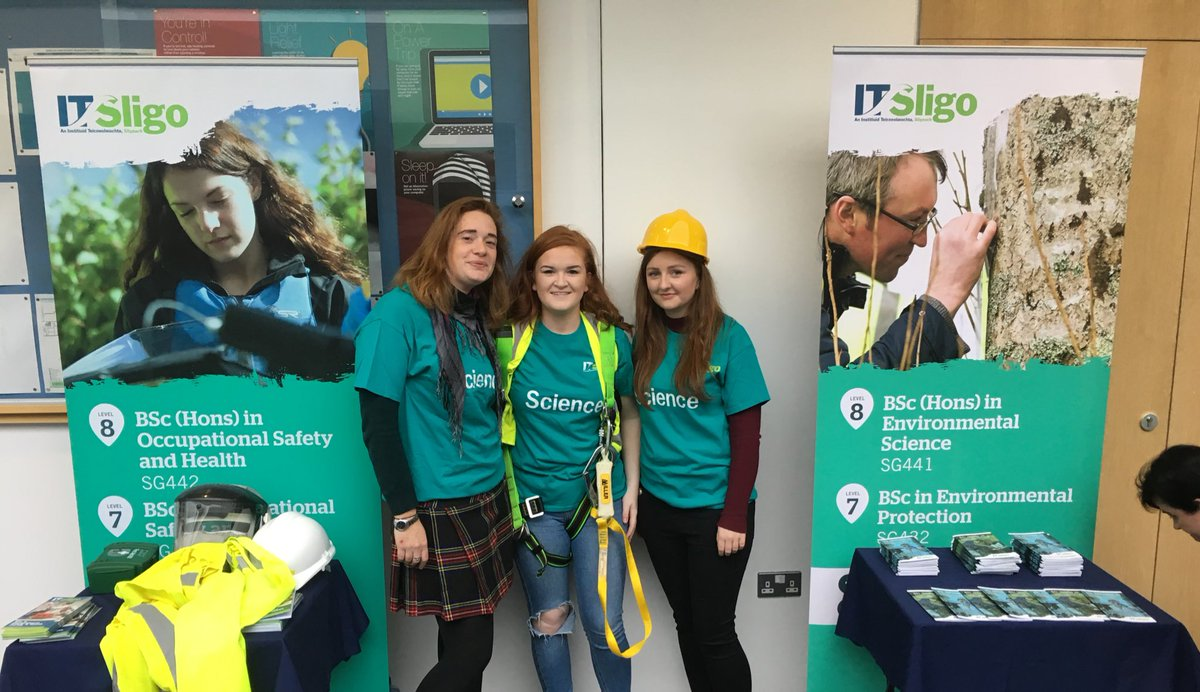It's #CAO #OpenDay, we're here on the main concourse, drop by &amp; ask us about careers in #EnvScience &amp; #healthandsafety<br>http://pic.twitter.com/D9SeRh5brQ