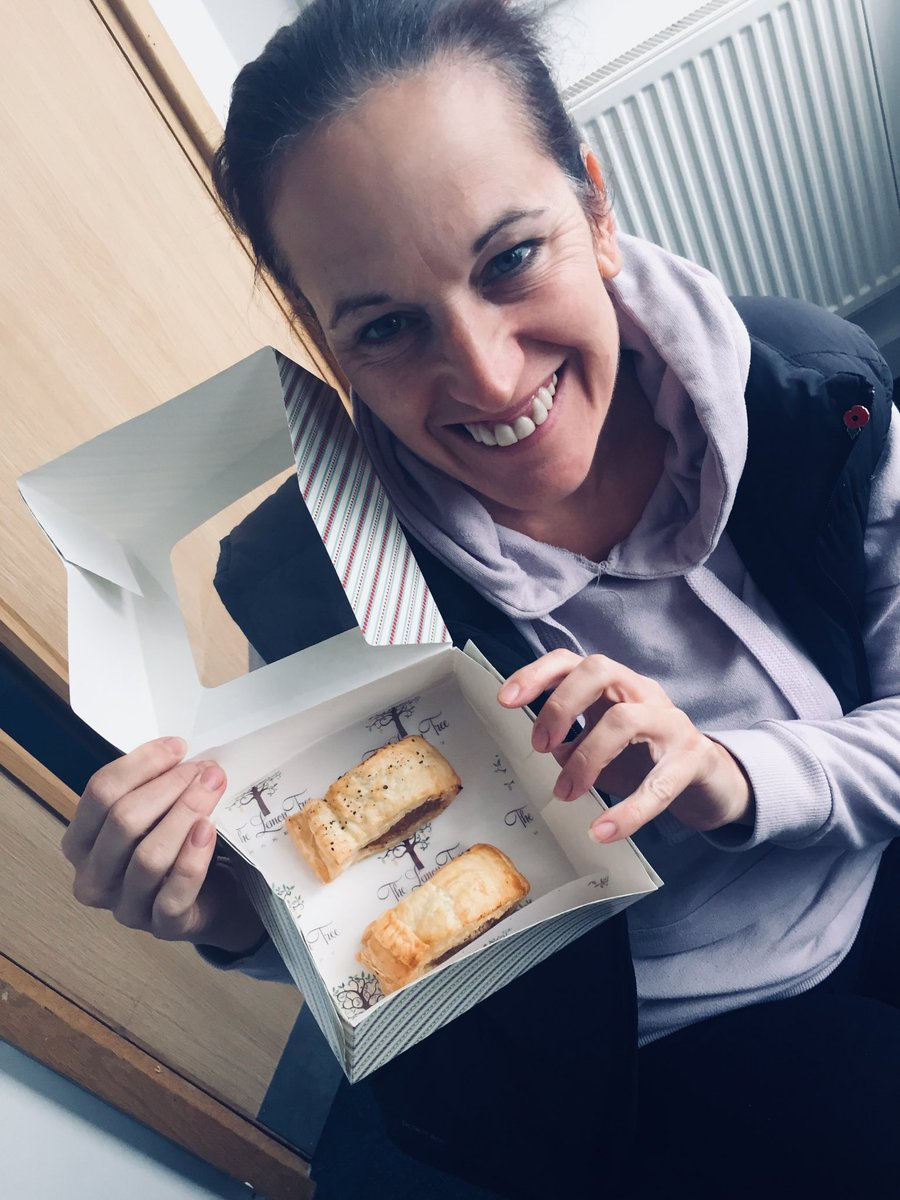 NELLA: Welcome to Niki from #Southport Lemon Tree Bakery. Today, it's savoury with sausage rolls. <br>http://pic.twitter.com/c55dlhH0Xe