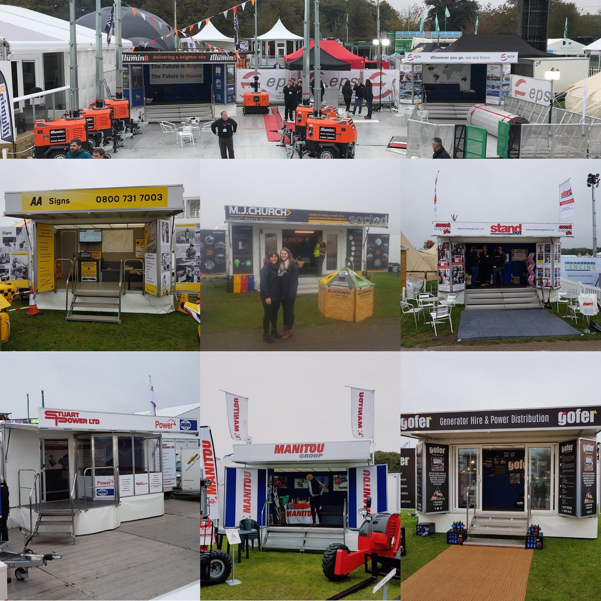 Wishing all our customers @TheShowmansShow a great final day and thank you for choosing us to help you at this great event! #eventprof <br>http://pic.twitter.com/GoCF1PdeME