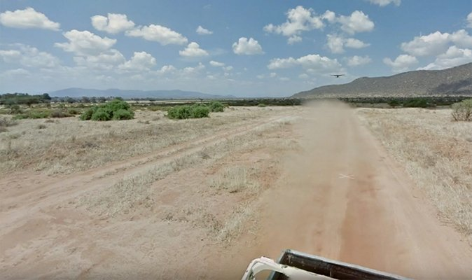 Google Maps Street View car chased by THIS terrifying object https://t.co/CF7RxjI6b9