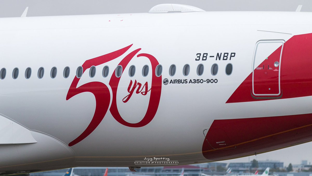 A350-900 AIR MAURITIUS STICKER AIRBUS