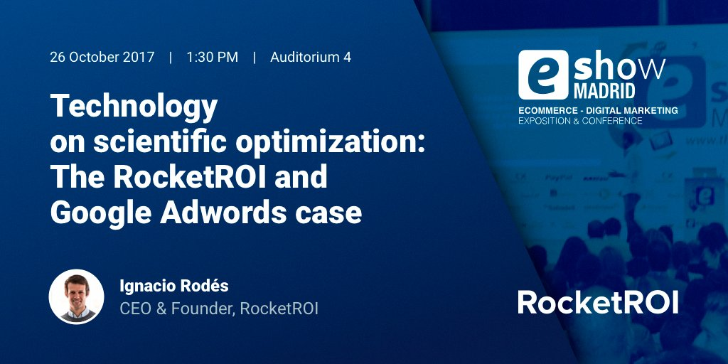 If you want to find out how to improve your digital campaigns don&#39;t miss this speech at #eShowMAD17 by @irodes #GoogleAdWords #technology<br>http://pic.twitter.com/5weIZ2sMbg