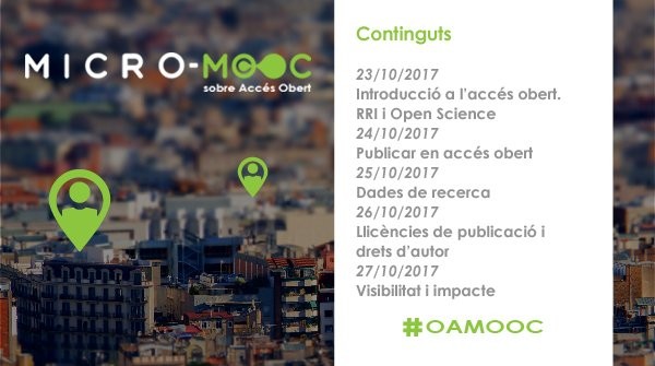 Are you following @moocmicro? On 23 October they are starting an #online #course on #openaccess #OAMOOC  http:// bit.ly/2xvVluz  &nbsp;  <br>http://pic.twitter.com/dy08j2bp3E