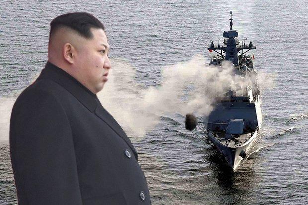 Are you watching Kim? US-led war fleet OPENS FIRE near North Korea https://t.co/5ryL3Wf6Zc