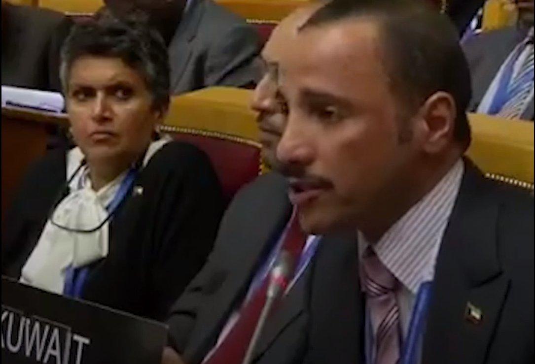 #Kuwaiti MP slams #Israel in St. #Peters...