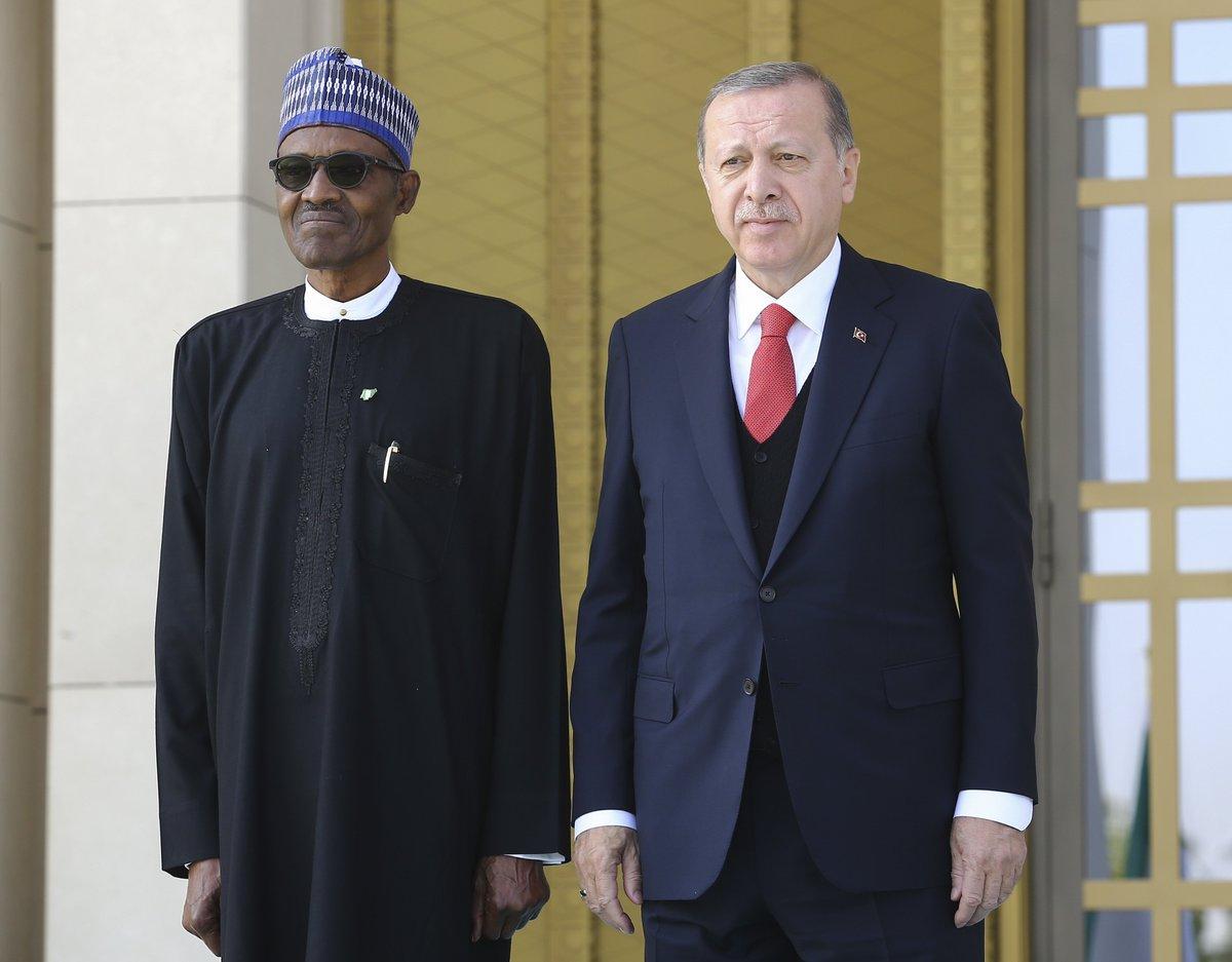 #Nigerian President #Buhari arrives in #...