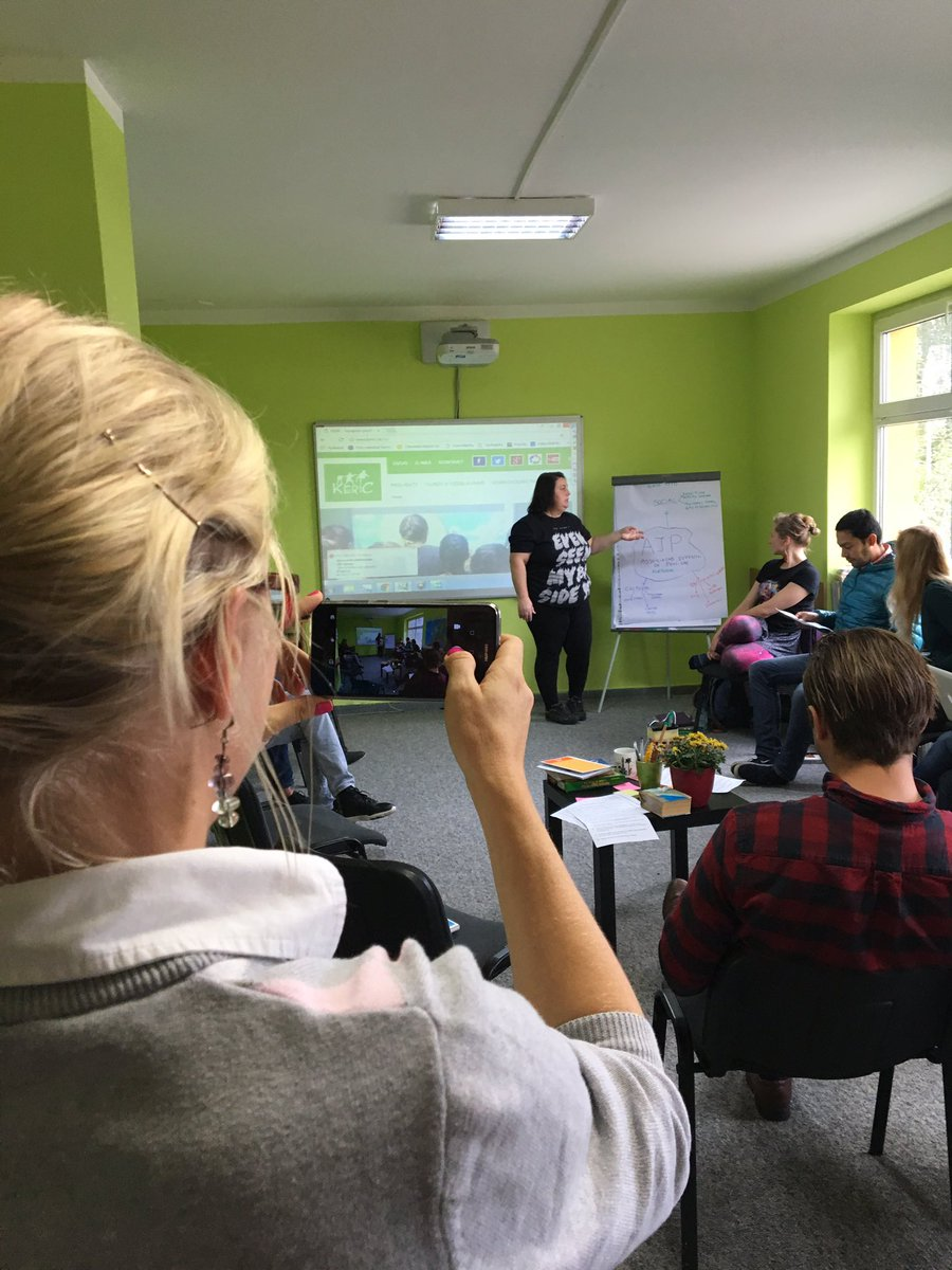 Strategic EVS #youth project planning kick off meeting with @KericCadca in Slovakia @LMCollege @erasmusplusUK #ErasmusPlus <br>http://pic.twitter.com/U297wF1n9g