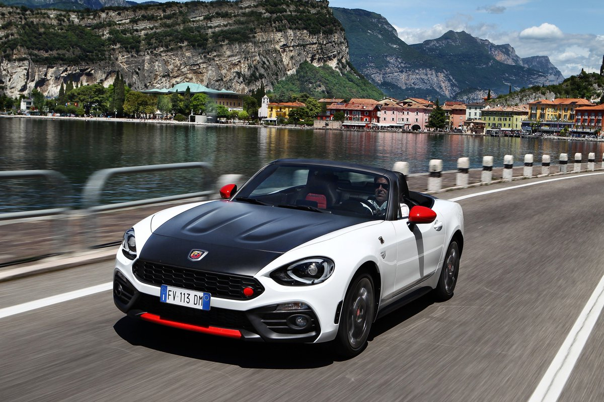 Racing pulse as standard, #Abarth Spider 124.  Contact Motorvillage to find out more. https://t.co/YGsxKGc5UW