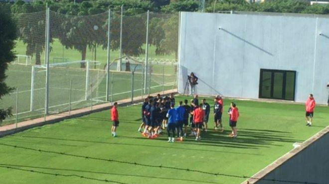 DMfhIOBUQAENzGX Nacho Vidal y Jaume ausentes en el entrenamiento de hoy - Comunio-Biwenger